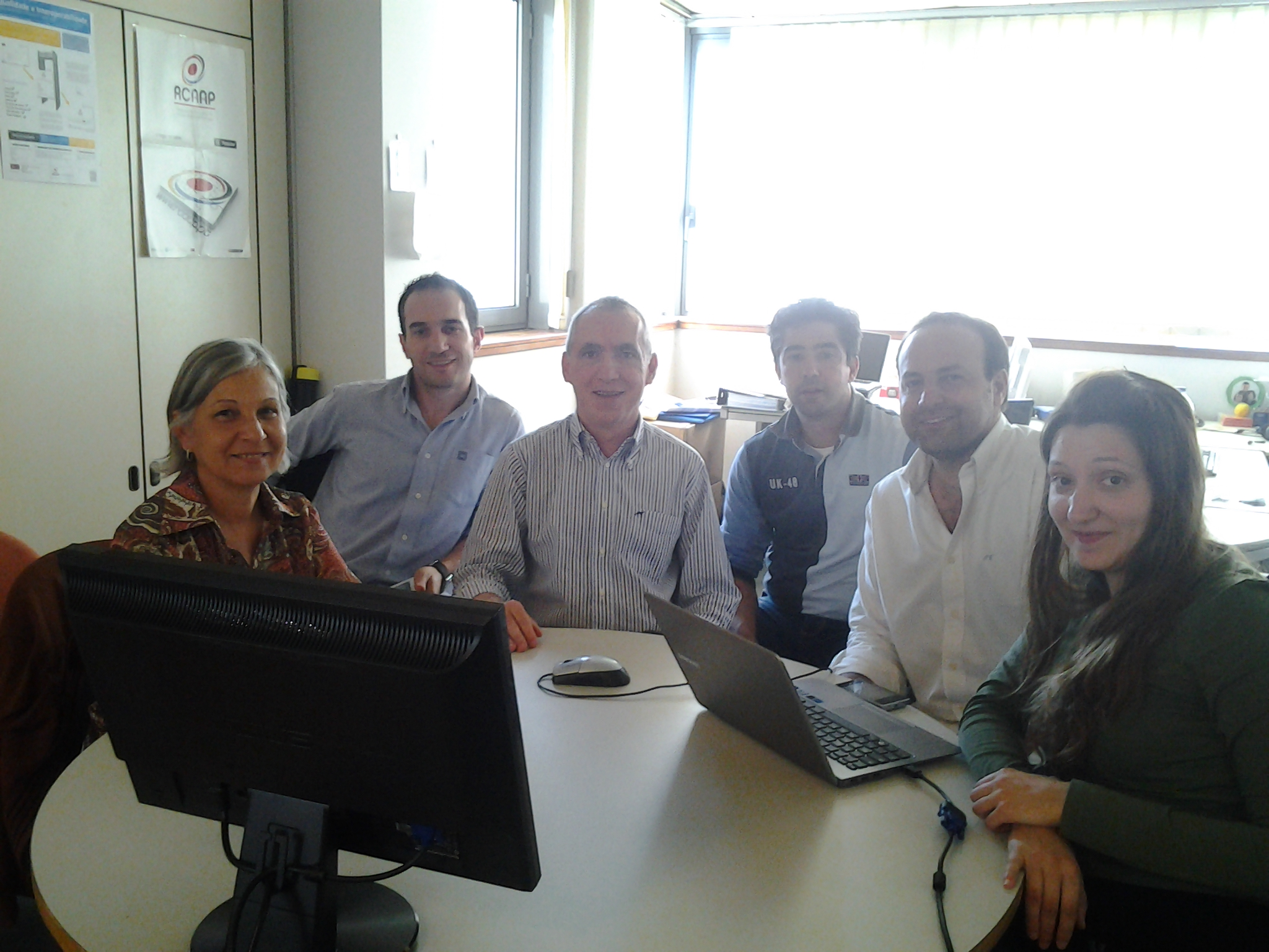 Visita de Coordenadora do IBICT ao Gabinete de Projetos Open Access