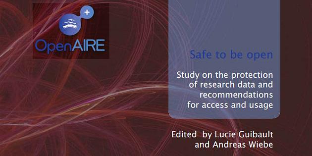 OpenAIRE publica estudo sobre a proteção de dados científicos com recomendações sobre o acesso aberto