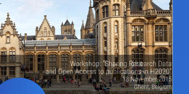 """OpenAIRE disponibilizou slides e gravações do seu último workshop sobre """"Partilha de Dados Científicos e Acesso Aberto às publicações no H2020"""""""