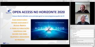 """Disponível gravação do webinar """"Acesso Aberto no Horizonte 2020"""""""