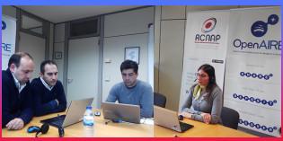 Gravação e slides do webinar OpenAIRE: como associar a informação de projetos às publicações depositadas no RCAAP