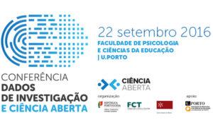 """Conferência """"Dados de Investigação e Ciência Aberta: rumo a uma estratégia nacional"""""""