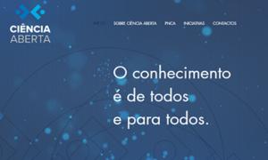 Ciência Aberta: website já disponível