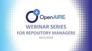 imagem do evento com o logotipo do projeto OpenAIRE
