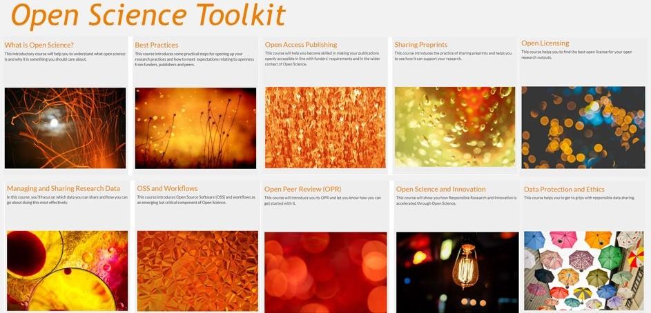 Lançamento do FOSTER Open Science Toolkit