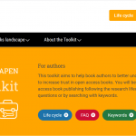 OA Books Toolkit